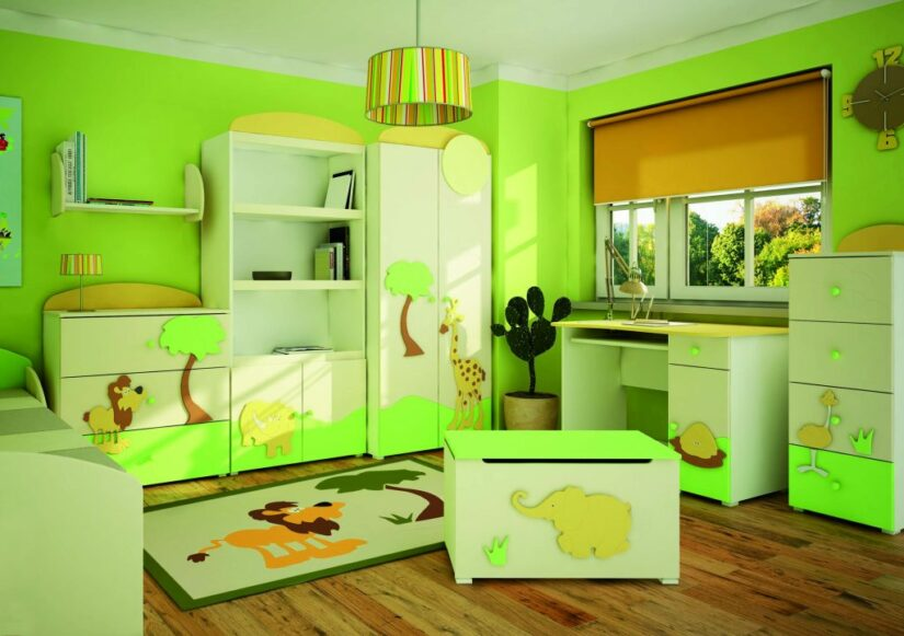 สีเขียวมะนาวทาบ้าน