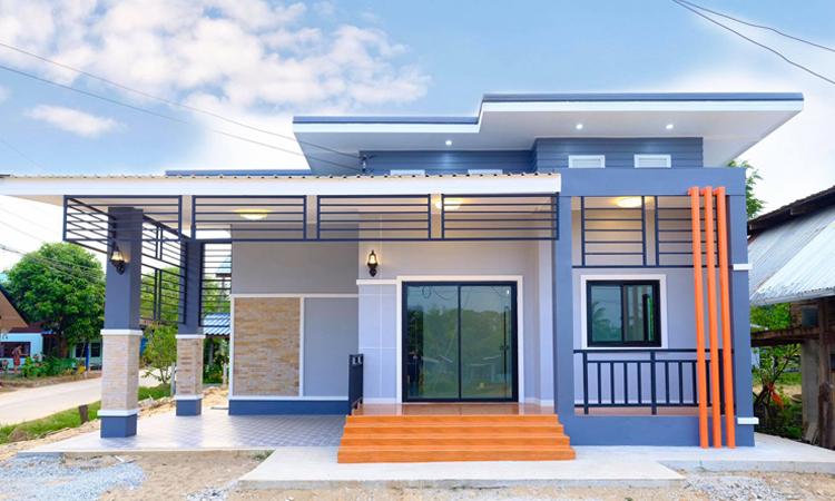 แบบบ้าน modern classic ที่น่าพักอาศัย