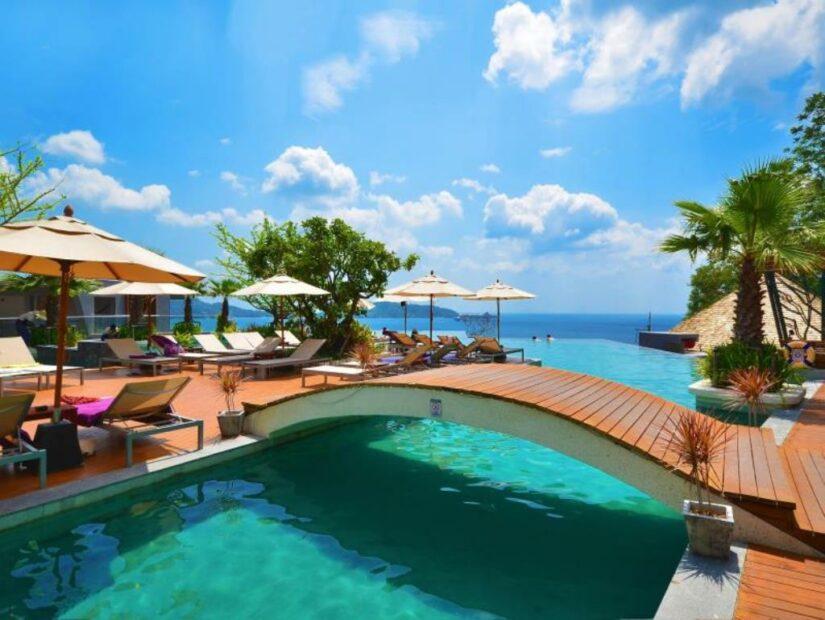 Phuket accommodation with a beautiful view